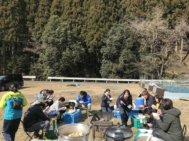 吉野ファミリーキャンプ2月①
