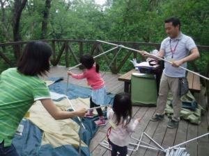 家族のためのキャンプビギナーズプラン