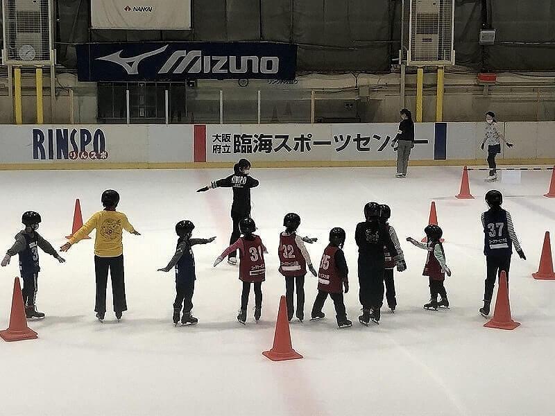 スケート教室in臨海スポーツセンター