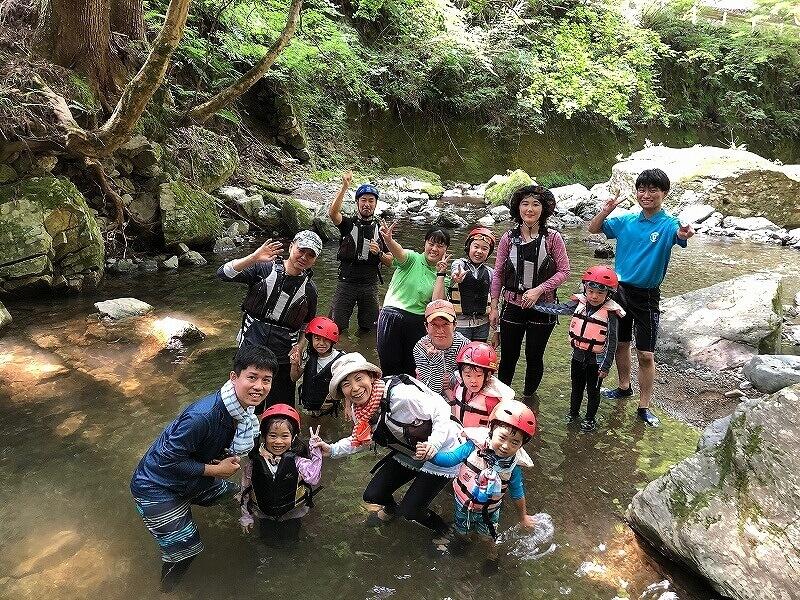 吉野ファミリーキャンプ6月