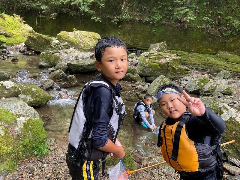 子どもキャンプ塾6月
